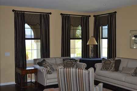 curtains installation