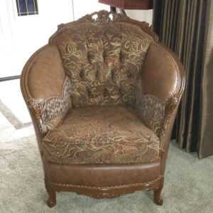 Chair Upholstery Project