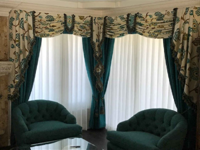 Valances and Draperies