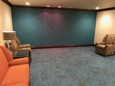 Interior Design, Upholstery and Wallpaper